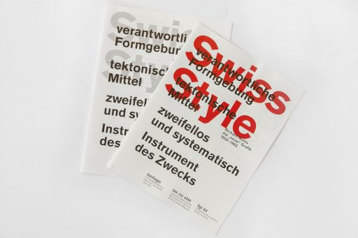 Swiss Style Booklet (Red Special Edition)