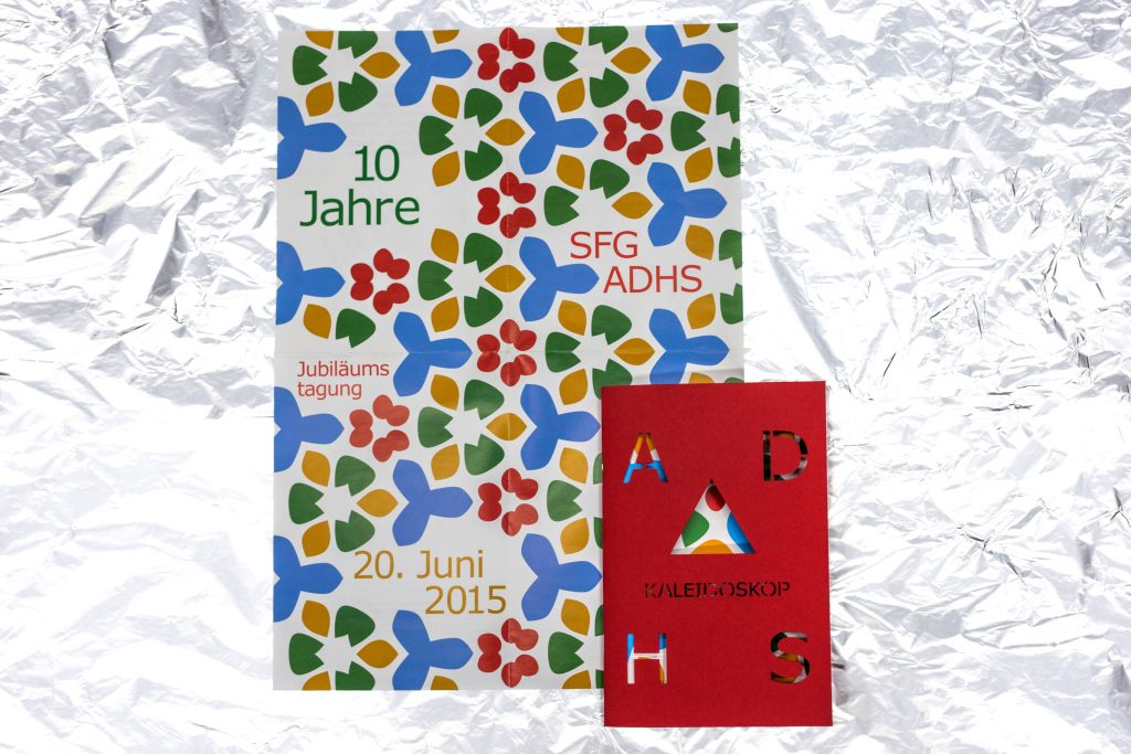 SFG ADHS Jubiläums Flyer & Booklet