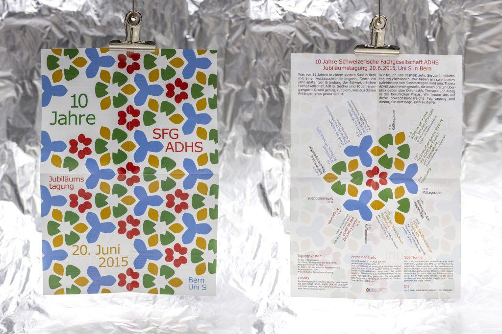 SFG ADHS Jubiläums Flyer